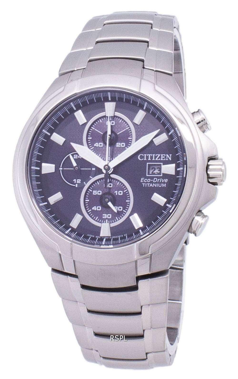 d1f2cbe57a1 Citizen Eco-Drive CA0700-86E Chronograph Titanium Men s Watch ...