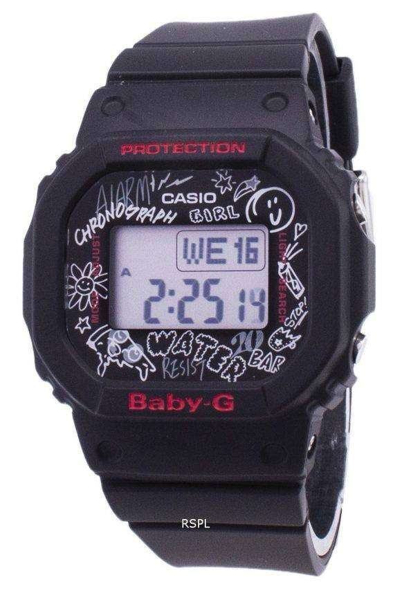 Casio Baby-G BGD-560SK-1 BGD560SK-1 Chronograph Digital 200M Women's Watch 1
