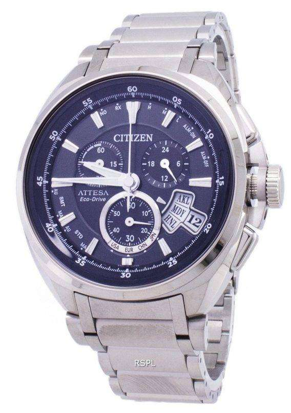 Citizen Attesa Eco-Drive BY0020-59E Titanium Analog Men's Watch 1
