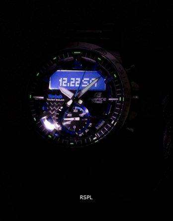 Casio Edifice ECB-800D-1A Tough Solar Bluetooth Illuminator Men's Watch