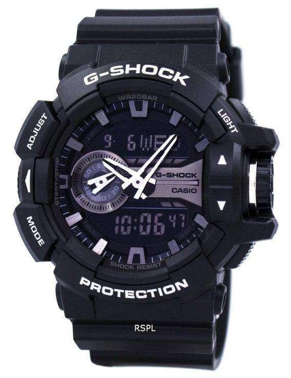 Casio G-Shock Analog Digital World Time GA-400GB-1A Mens Watch 1