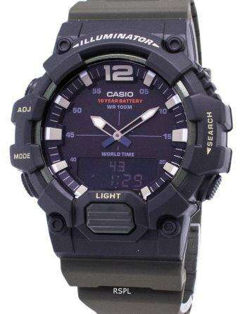 Casio Youth HDC-700-3AV Illuminator Quartz Analog Digital Men's Watch