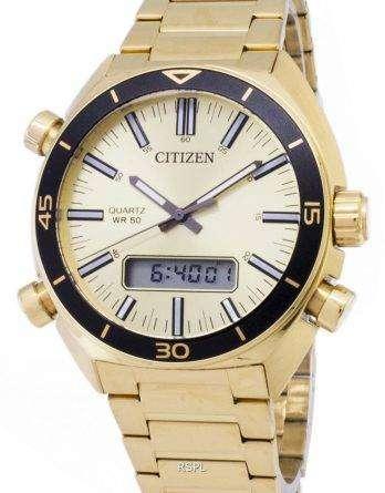 Citizen JM5462-56P Quartz Analog Digital Men's Watch