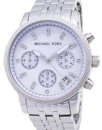 Michael Kors Chronograph Crystals MK5020 Womens Watch