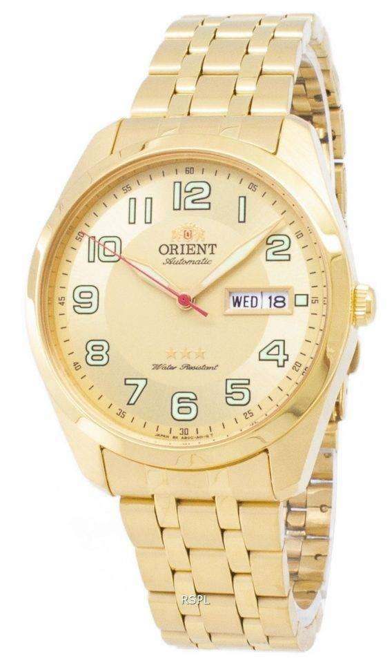 Orient 3 Star SAB0C005C8 Automatic Japan Made Men's Watch 1
