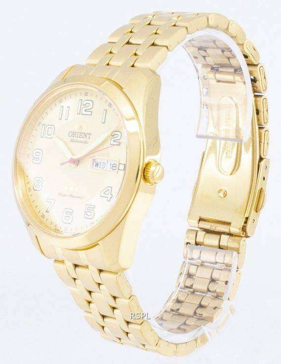 Orient 3 Star SAB0C005C8 Automatic Japan Made Men's Watch