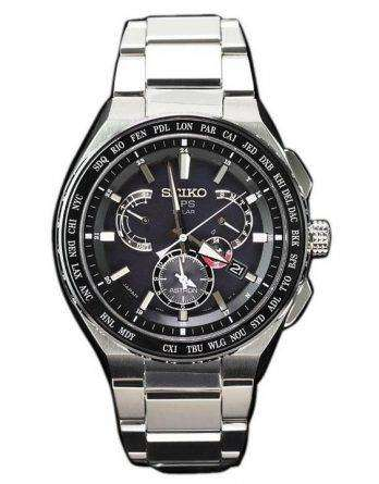 Seiko Astron SBXB123 GPS Solar Titanium Power Reserve Men's Watch