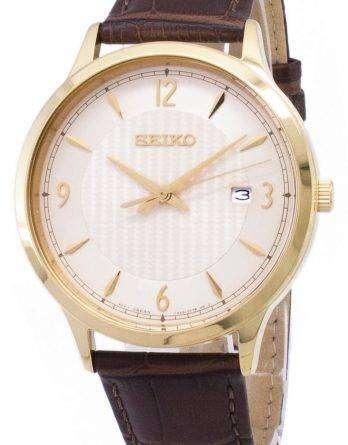 Seiko Quartz SGEH86 SGEH86P1 SGEH86P Analog Men's Watch