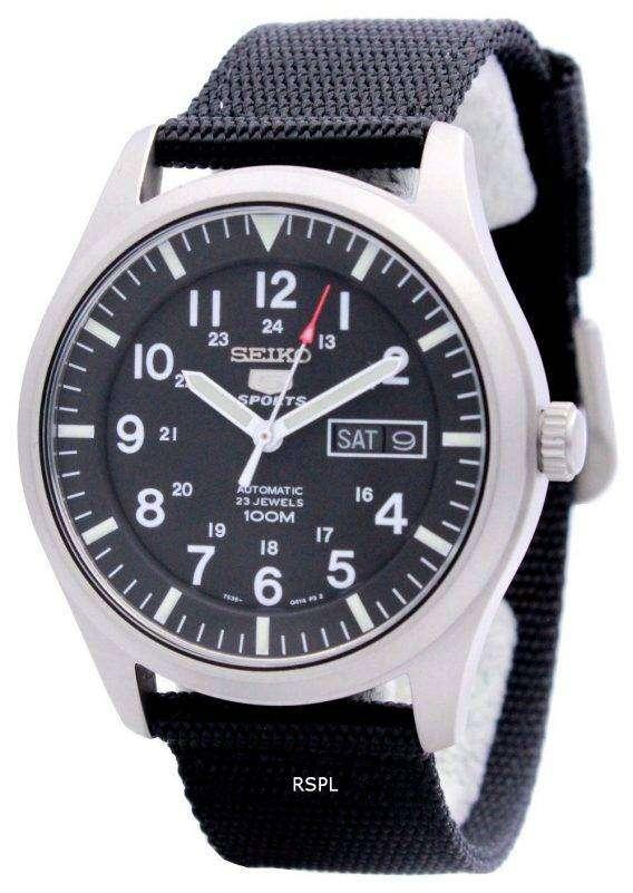 Seiko 5 Sports SNZG15 SNZG15K1 SNZG15K Automatic Men's Watch 1