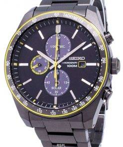 Seiko Solar SSC723 SSC723P1 SSC723P Chronograph Analog Men's Watch