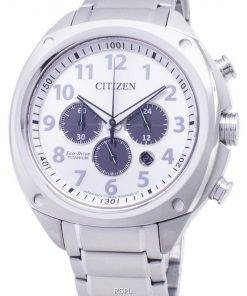 Citizen Eco-Drive CA4310-54A Titanium Chronograph Analog Men's Watch