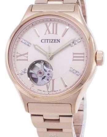 Citizen Automatic PC1003-58X Diamond Accents Analog Women's  Watch