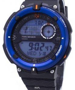 Casio Outdoor SGW-600H-2A SGW600H-2A Twin Sensor Quartz Digital Men's Watch