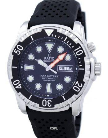 Ratio II Free Diver Helium-Safe 1000M Automatic 1068HA90-34VA-00 Men's Watch