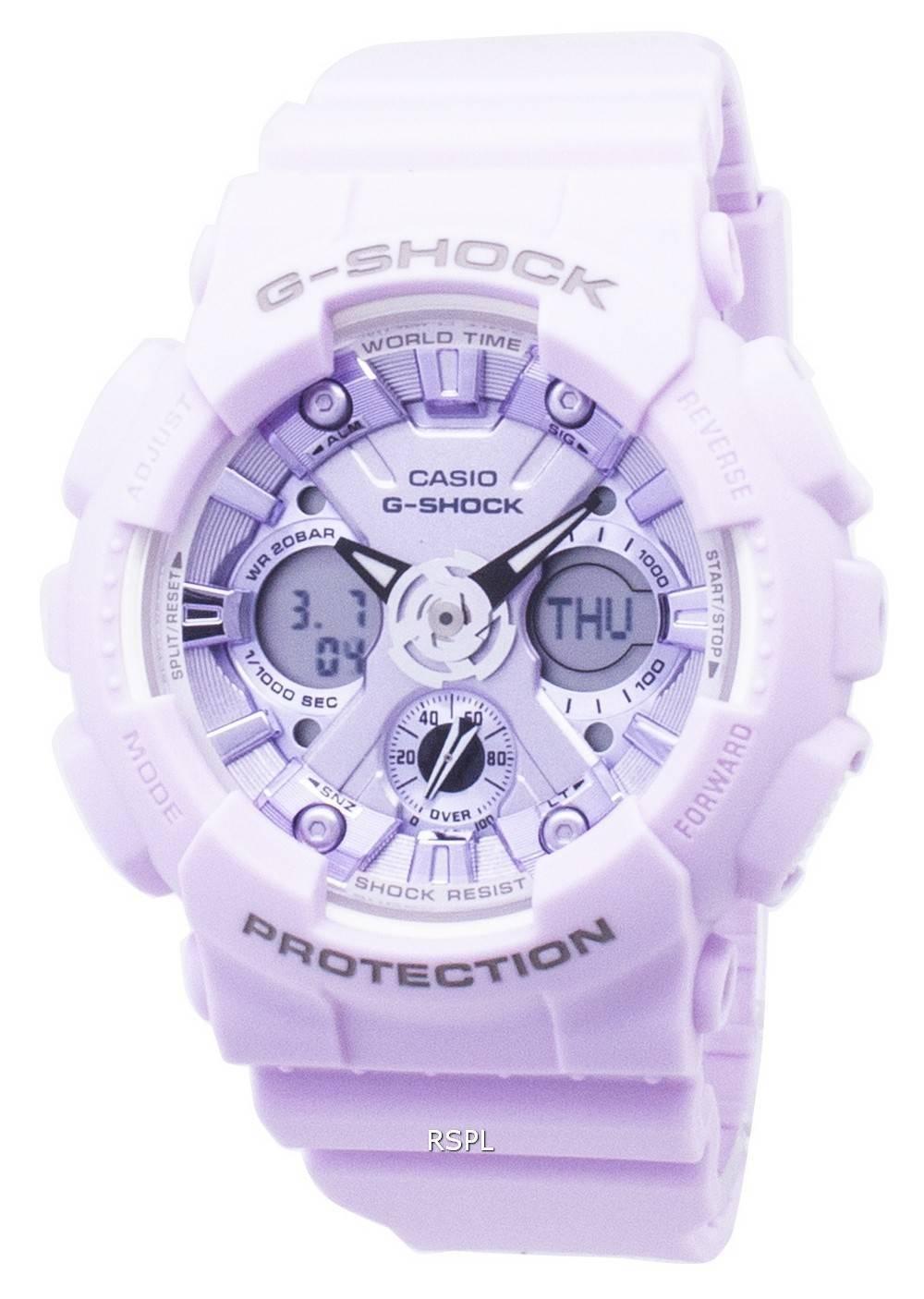 b7eda970605 Casio G-Shock GMA-S120DP-6A GMAS120DP-6A Analog Digital 200M Men s ...