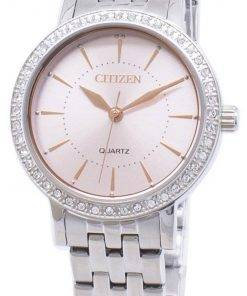 Citizen Quartz EL3041-87X Analog Diamond Accent Women's Watch