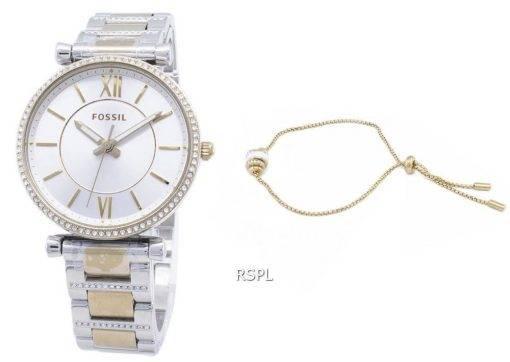 Fossil Carlie Mini ES4517SET Quartz Analog Women's Watch