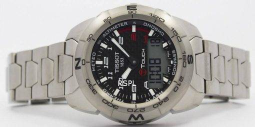 Tissot T Touch Expert Titanium T013.420.44.202.00 T0134204420200 Compass Watch