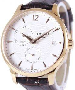 Tissot T-Classic Tradition GMT T063.639.36.037.00 T0636393603700 Men's Watch