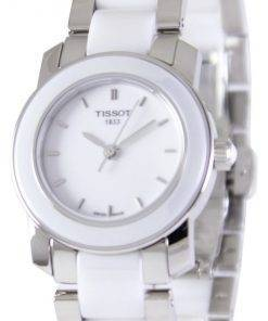 Tissot T-Lady Cera Quartz T064.210.22.011.00 T0642102201100 Women's Watch