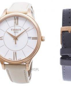 Tissot T-Lady Bella Ora Round T103.210.36.018.00 T1032103601800 Quartz Women's Watch