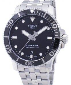 Tissot T-Sport Seastar T120.407.11.051.00 T1204071105100 Powermatic 80 300M Men's Watch
