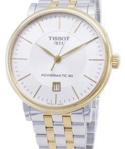 Tissot T-Classic Carson T122.407.22.031.00 T1224072203100 Powermatic 80 Men's Watch