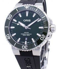 Oris Aquis Date 01 733 7730 4157-07 4 24 64EB 01-733-7730-4157-07-4-24-64EB Automatic 300M Men's Watch