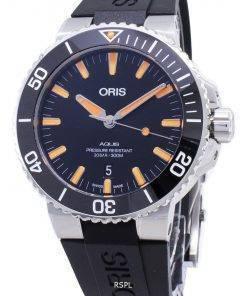 Oris Aquis Date 01 733 7730 4159-07 4 24 64EB 01-733-7730-4159-07-4-24-64EB Automatic 300M Men's Watch