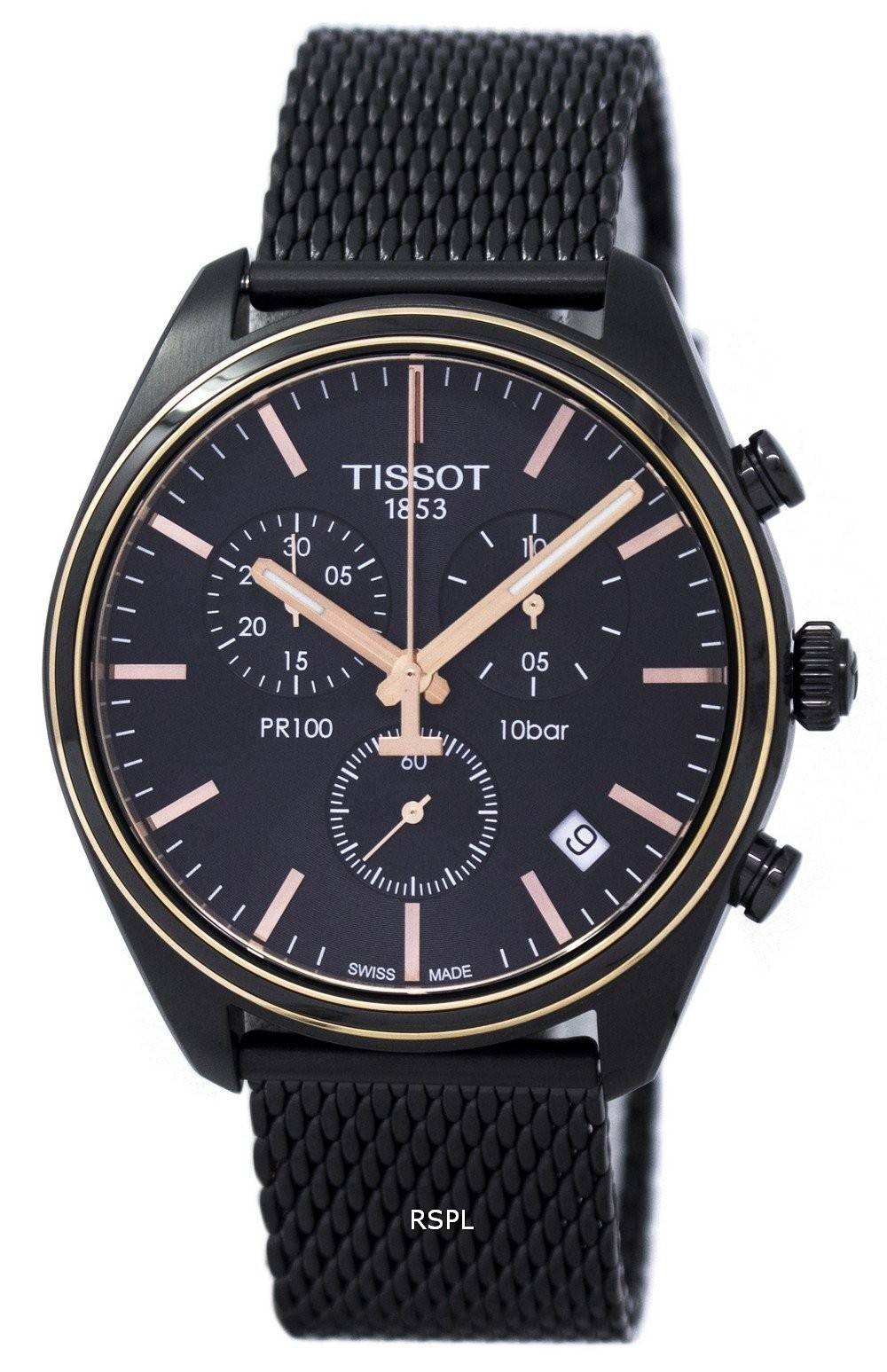 Tissot T-Classic PR 100 Chronograph T101.417.23.061.00 T1014172306100 Men's Watch