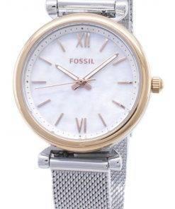 Fossil Carlie Quartz ES4614 Women's Watch