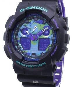 Casio G-Shock GA-100BL-1A GA100BL-1A Shock Resistant 200M Men's Watch
