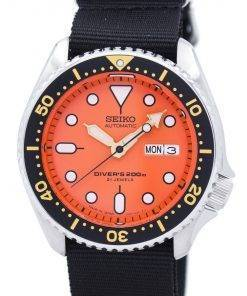 Seiko Automatic Divers 200M NATO Strap SKX011J1-NATO4 Mens Watch