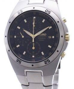 Seiko Chronograph Titanium Two-tone Mens Watch SND451P1
