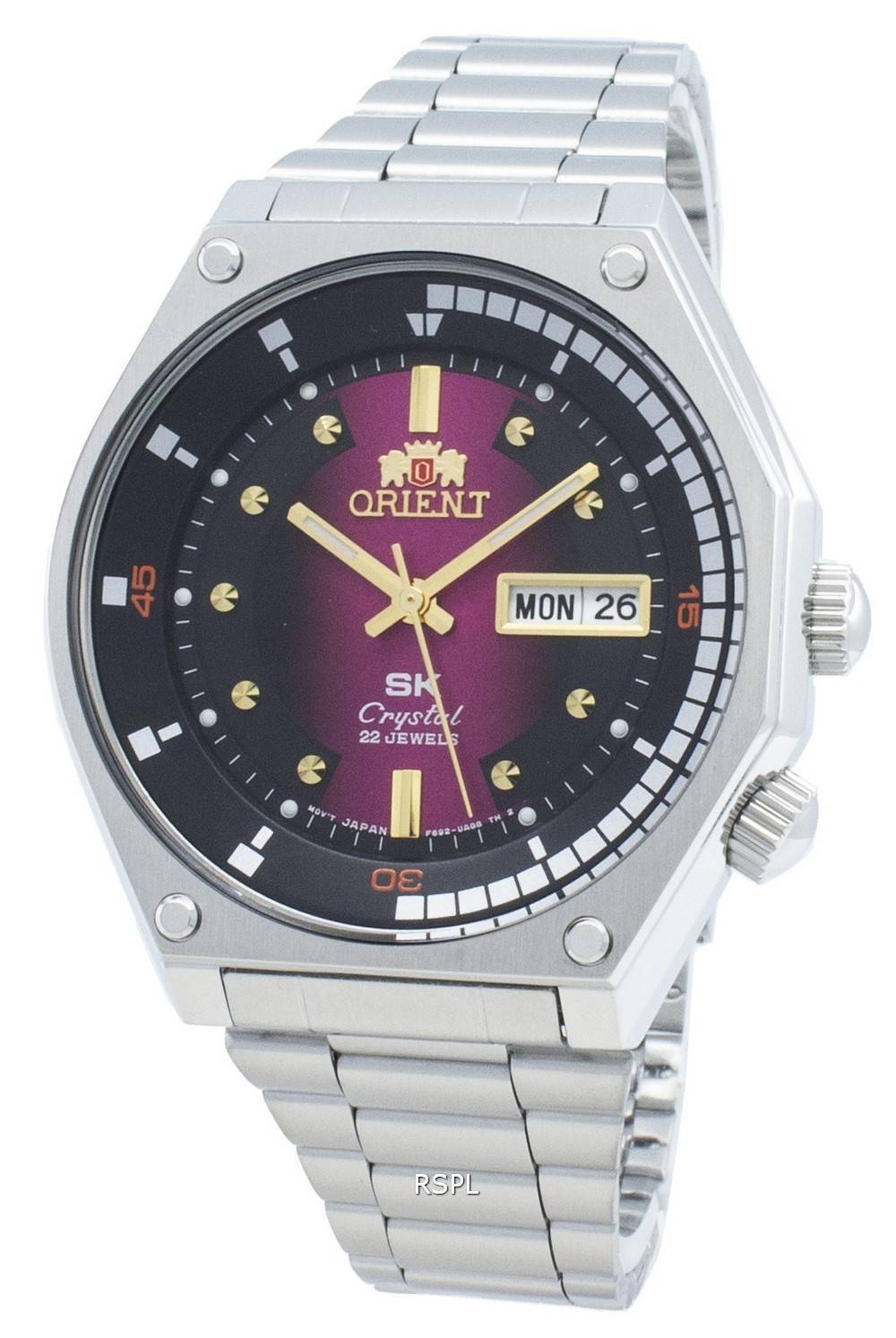 Orient RA-AA0B02R19B Automatic 22 Jewels Men's Watch