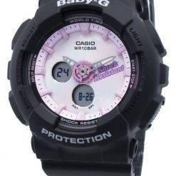 Casio Baby-G Analog Digital BA-120T-1A BA120T-1A World Time Quartz Women's Watch