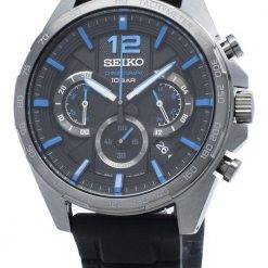 Seiko Chronograph SSB353 SSB353P1 SSB353P Tachymeter Quartz Men's Watch