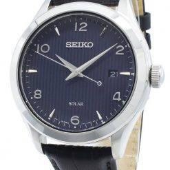 Seiko Solar SNE491 SNE491P1 SNE491P Quartz Men's Watch
