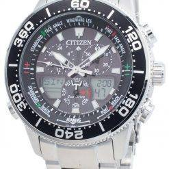 Citizen PROMASTER Marine Eco-Drive JR4060-88E Chronograph 200M Men's Watch