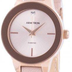 Armitron 755410RSRGBH Quartz Diamond Accents Women's Watch