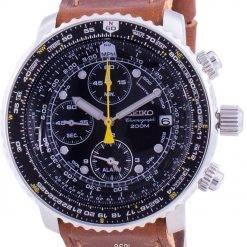 Seiko Pilot's Flight SNA411P1-VAR-LS9 Quartz Chronograph 200M Men's Watch