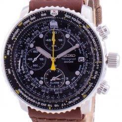Seiko Pilot's Flight SNA411P1-VAR-NS1 Quartz Chronograph 200M Men's Watch